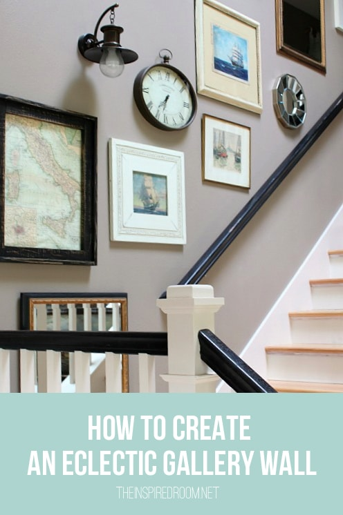 How to Create an Eclectic Gallery Wall - The Inspired Room