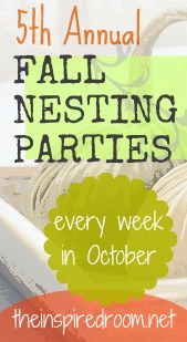 Announcing: The Fifth Annual Fall Nesting Series & Party!
