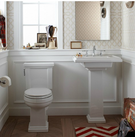 Charming Bathrooms {Kohler Tresham}