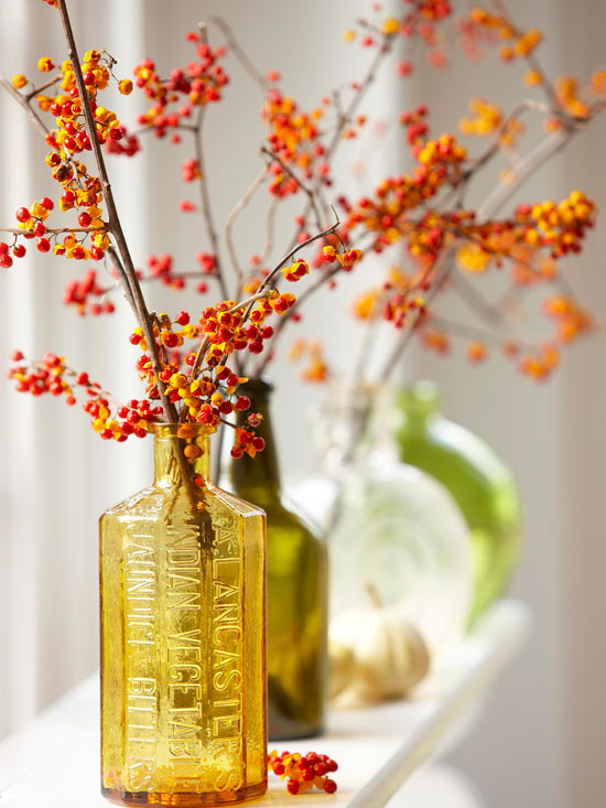Fall Decorating Ideas BHG