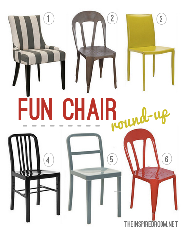 Fun Dining Chair Round-up