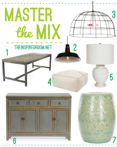 Gather {A Mix of Elements for a Stylish Home}