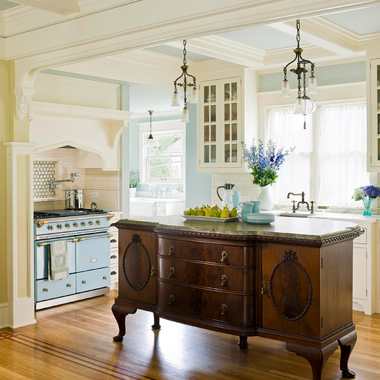 antique island for kitchen 12 freestanding kitchen islands the inspired room 1194
