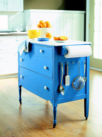 Diy Kitchen Island Ideas 12 freestanding kitchen islands - the inspired room