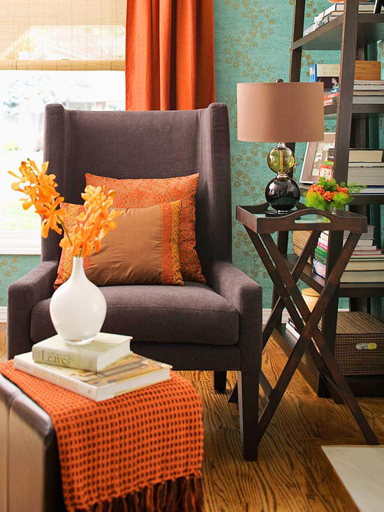 Fall Decorating: Fresh Color Combinations - The Inspired Room