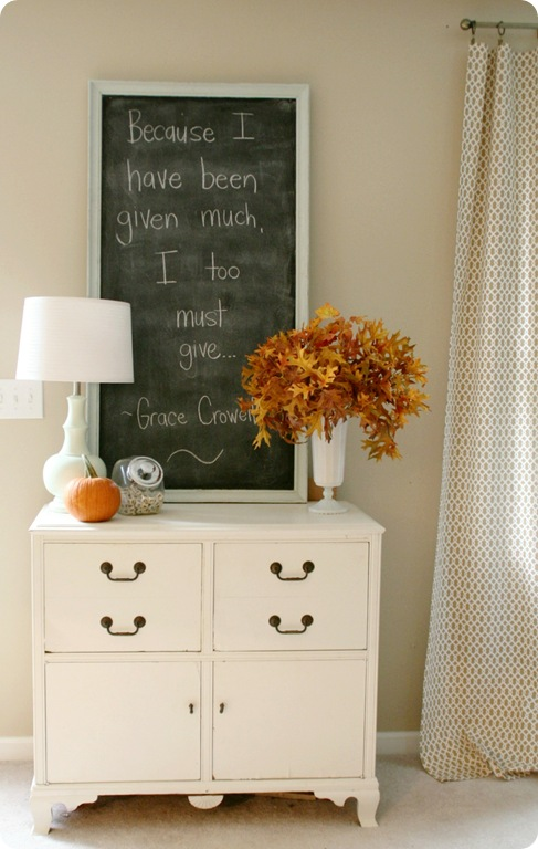 Fall + Chalkboards