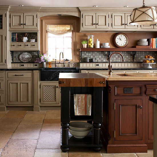 Free Standing Kitchen Islands 12 freestanding kitchen islands - the inspired room