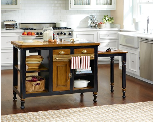 Williams Sonoma freestanding island