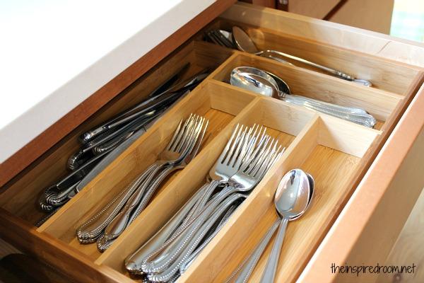 Pretty Clutter & Organization {A Kitchen Progress Update!}