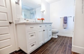 Master Bathroom and Closet Makeover {4 Men 1 Lady}