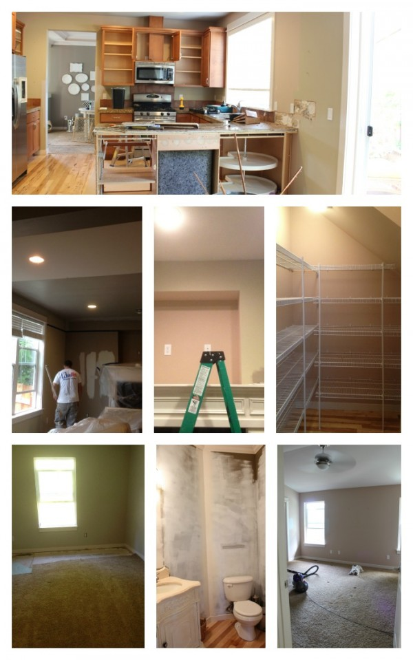 Before & Afters {Show Your Paint Colors!}