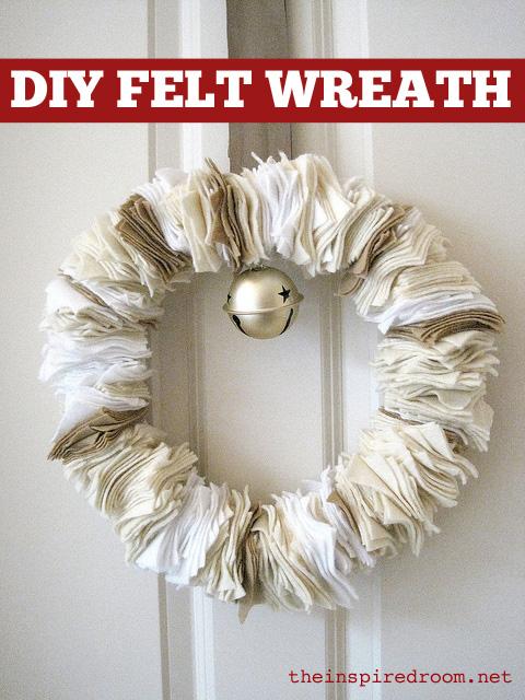 How to Make a Felt Wreath