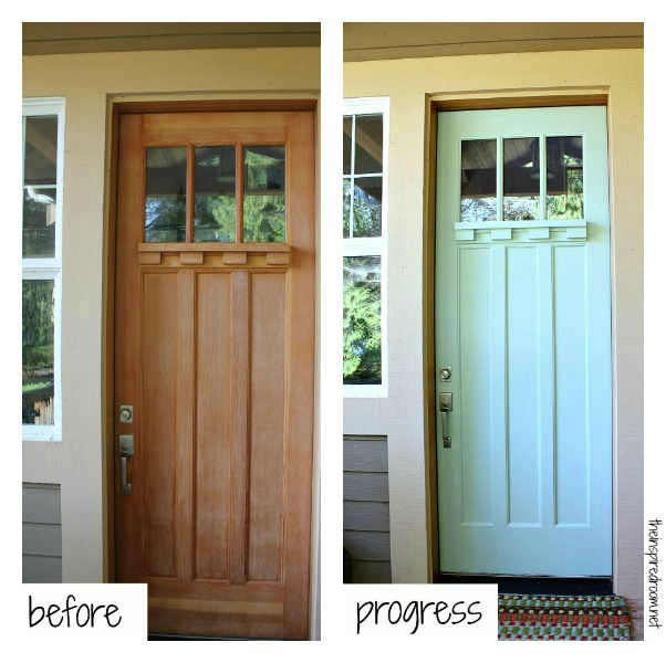 Front Door Makeover - The Inspired Room