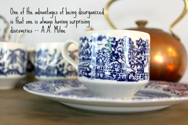 Unexpected Discoveries {Blue & White Collection}