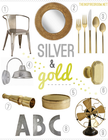 Silver and Gold {Gather}