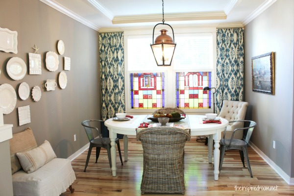 My Dining Room Makeover! An Evolution {Before & After}