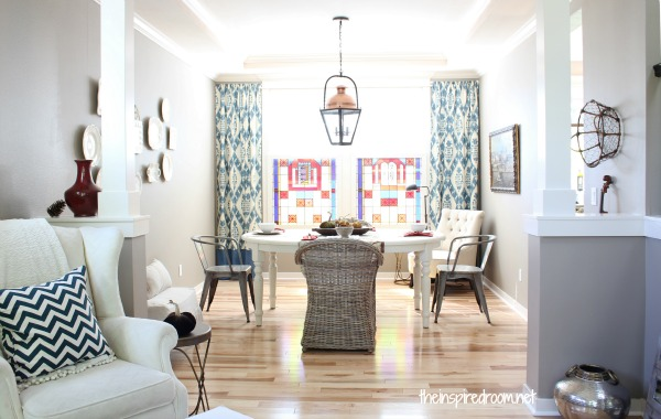 Captivating My Dining Room Makeover! An Evolution {Before U0026 After}