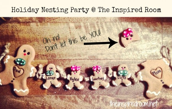 9 Weeks Until Christmas?! {Holiday Nesting & A Link Party!}