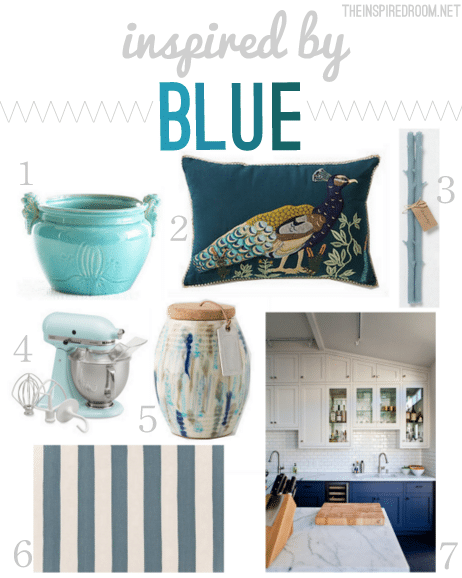 Foundational Color Scheme} Inspired By Blue - The Inspired Room