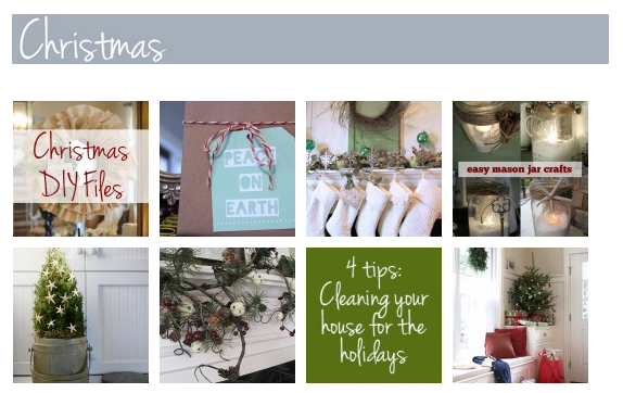 New Seasonal & Holiday Gallery on The Inspired Room!