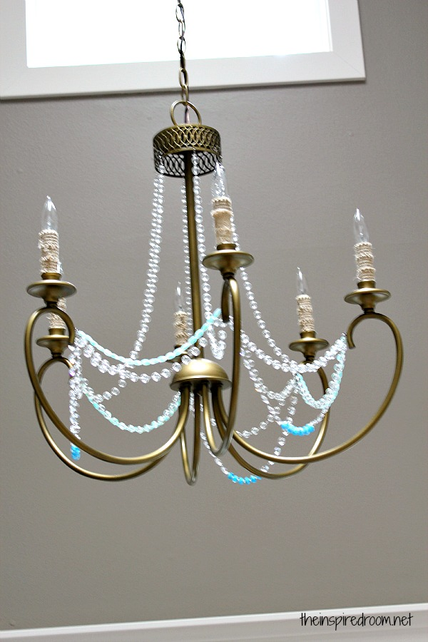 Nesting in the Entry Creating Ambience with a Beaded Crystal – Crystal Beads for Chandelier