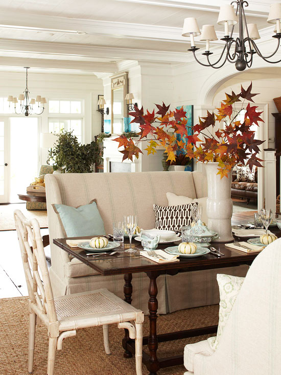 fall nesting around the table the inspired room