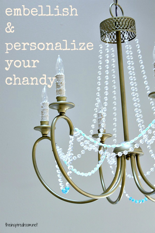Beaded chandeliers reveal their charm and versatility by adding stranded beads you basically give the chandelier a fresh new look a new identity and more character mozeypictures