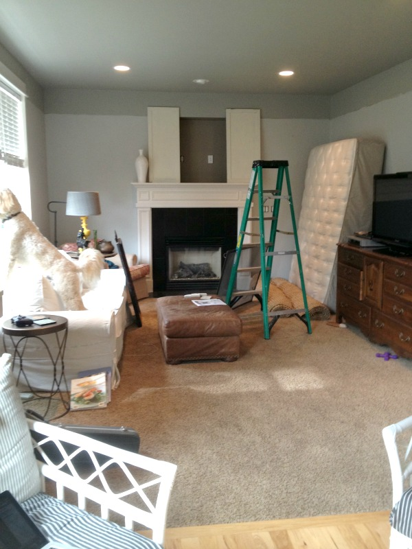 The Family Kitchen Makeover Continues {Hardwood Flooring Kitchen}