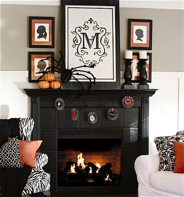 Fall Decorating Around Blogger S Houses The Inspired Room
