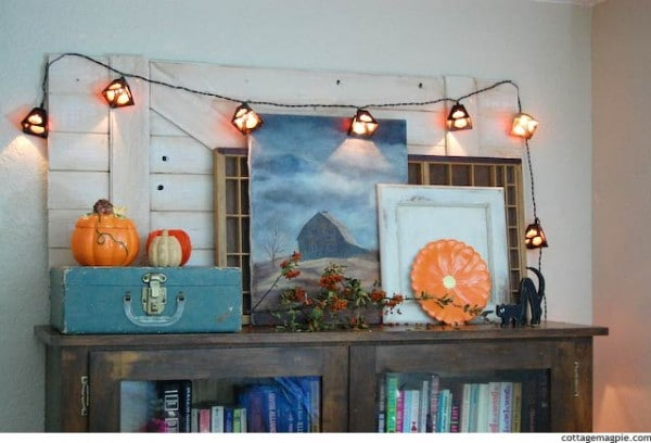 Fall Decorating Around Blogger's Houses