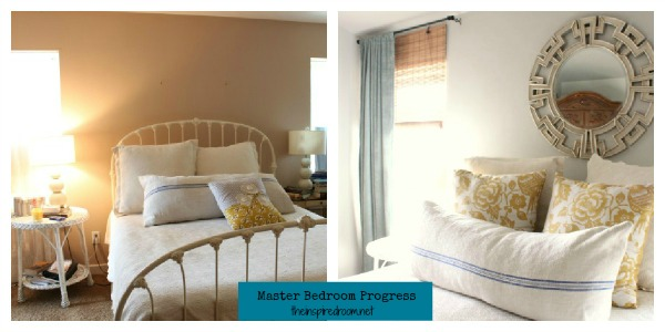 Master Bedroom Makeover! {A Progress Report!}