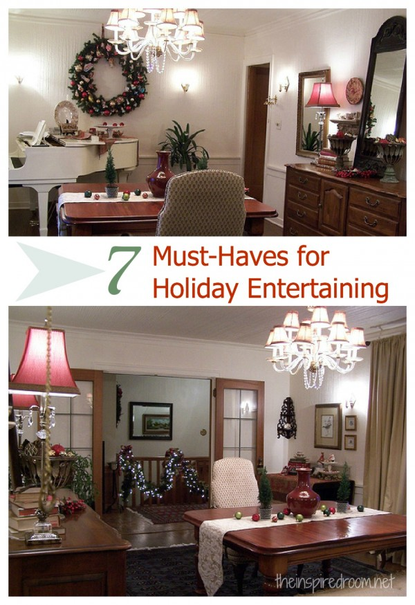 7 Must-Haves for Holiday Entertaining {& A Giveaway!}