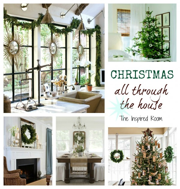 {Dreaming} Simple Christmas Decorating All Through The House