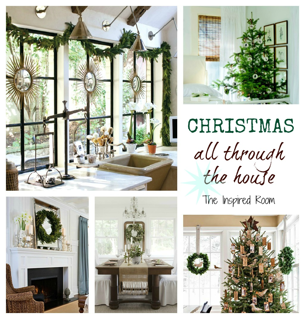 Decorating Your House For Christmas: {Dreaming} Simple Christmas Decorating All Through The