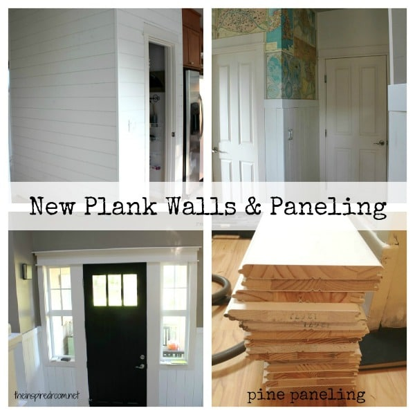 Plank Walls: Adding Character {Remodeling Update!} - Plank Walls: Adding Character {Remodeling Update!} - The Inspired Room