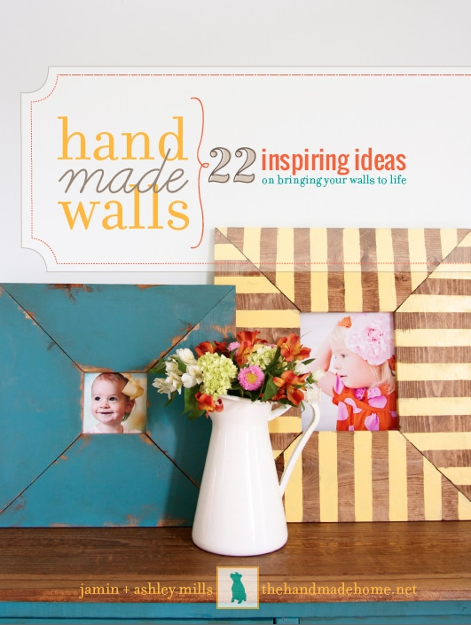 Creative Ideas for Your Walls {Handmade Walls!}