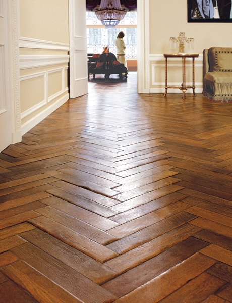 Hardwood floor ideas inspiration creative home for Homes with hardwood floors