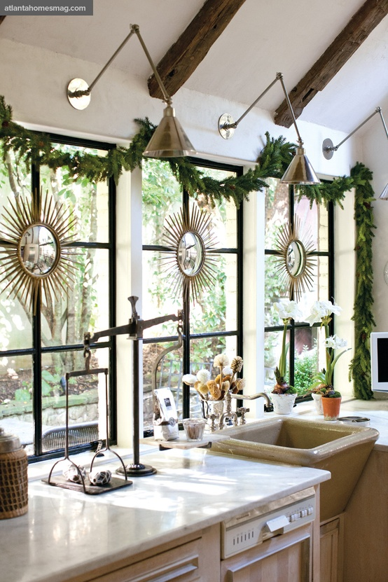 dreaming simple christmas decorating all through the house