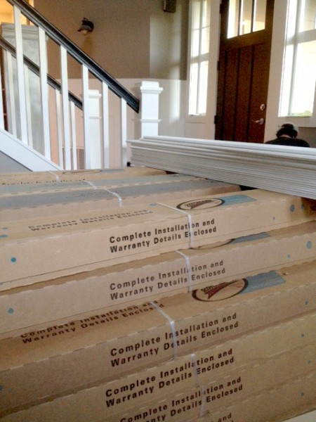 Preparing for The New Wood Floors {Mohawk Hickory Hardwood Flooring}