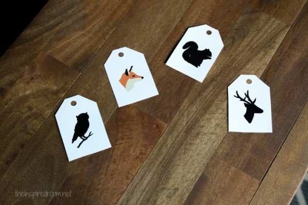 {Free Printables!} Hand Drawn Woodland Gift Tags
