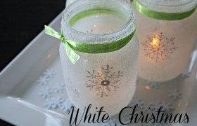 Mason Jar Luminaries Tutorial {Ginger Snap Crafts}