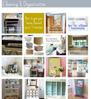 Homemaking Tips & Ideas Gallery {Organizing and Cleaning Your Home!}