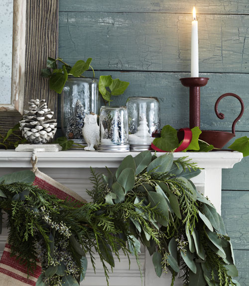 Cozy natural christmas decor the inspired room Natural decorating