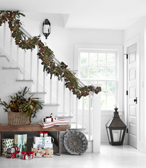 Inspired Christmas {Stairways}