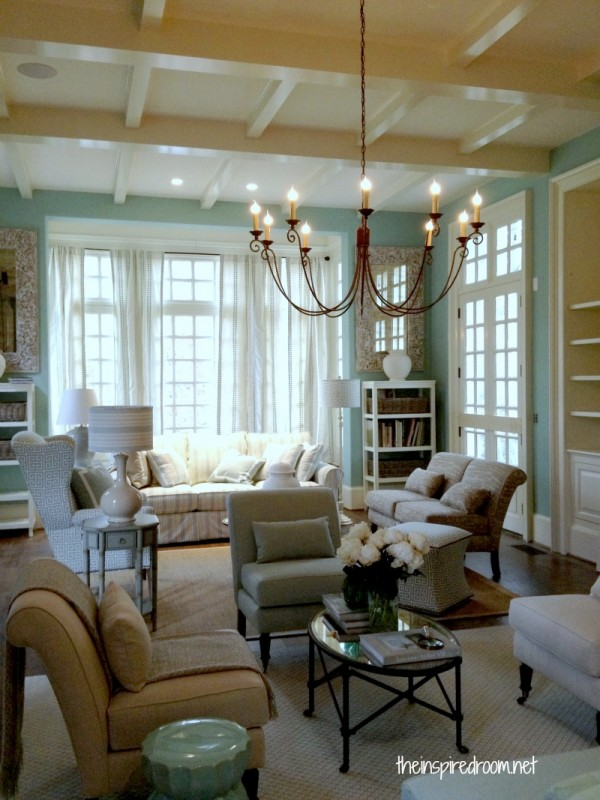 Charming House Tour! {Ballard Designs Catalog House}  The Inspired Room - Ballard Design