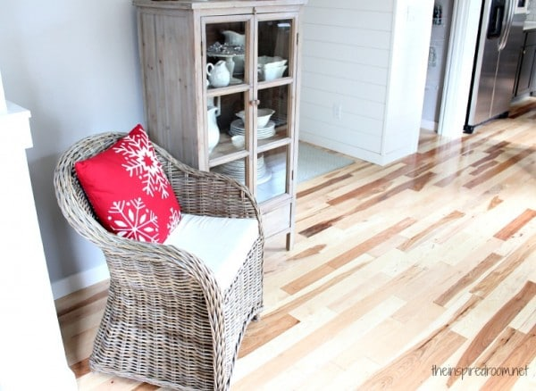 Mohawk Hickory Hardwood Floor Project {The Reveal!}