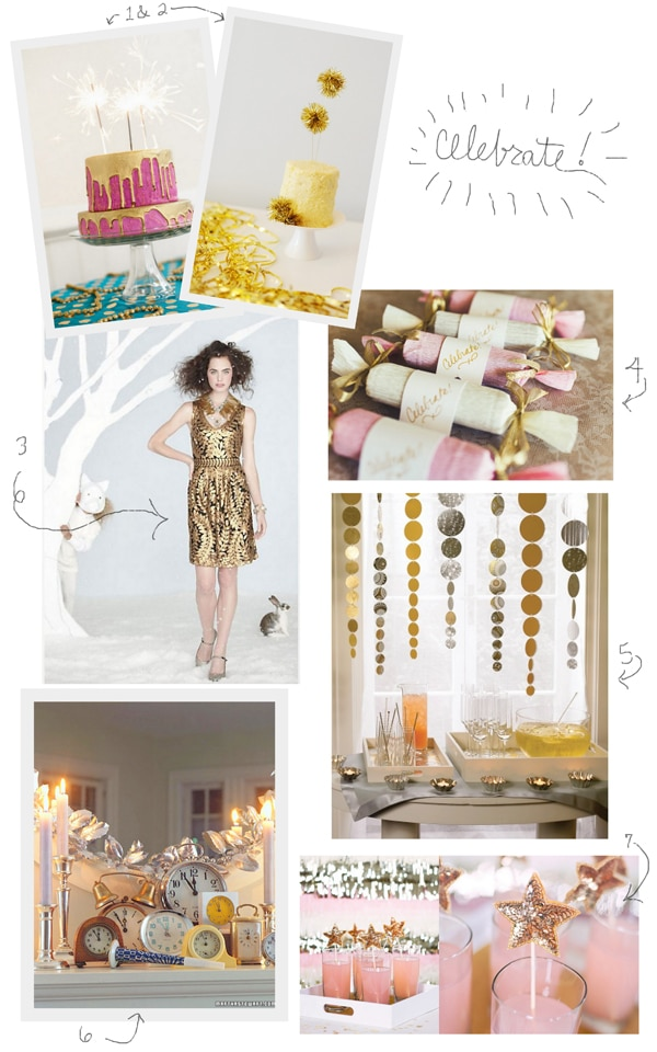 A Sparkling New Year's Eve {Inspiration}