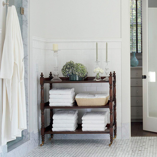 pretty & functional Bathroom Storage Ideas The
