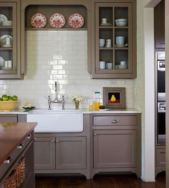 Shades Of Neutral Gray Amp White Kitchens Choosing Cabinet Colors The Inspired Room