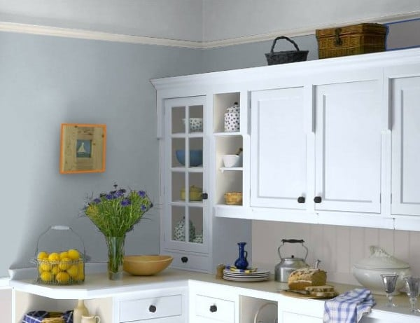 Cool online paint color tool the inspired room for Kitchen paint colors grey